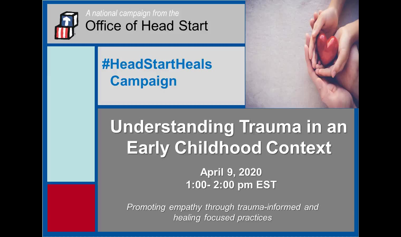 Understanding Trauma in an Early Childhood Context