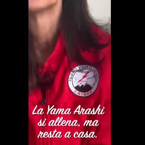 #iorestoacasa: la Yama Arashi Judo Savona