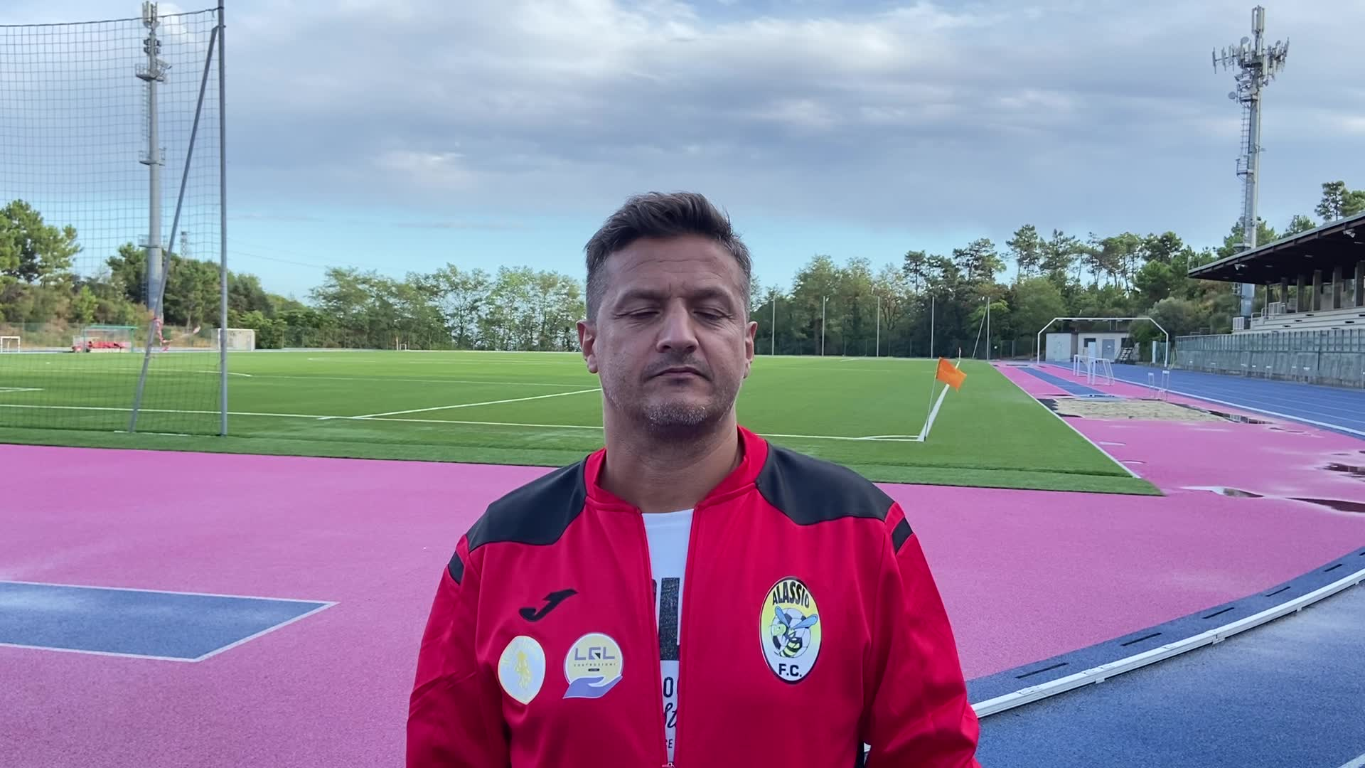 Alassio, mister Luciani commenta la sconfitta dei gialloneri