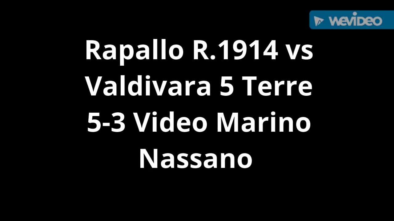 Eccellenza, Rapallo contro Valdivara 5 Terre: la sintesi