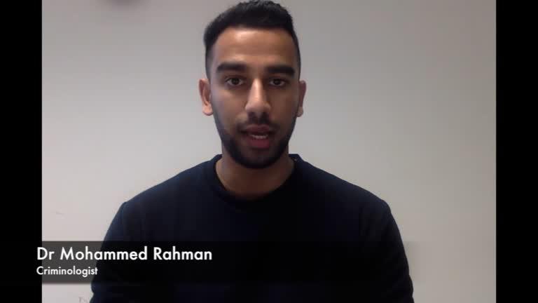 Dr Mohammed Rahman – Criminologist