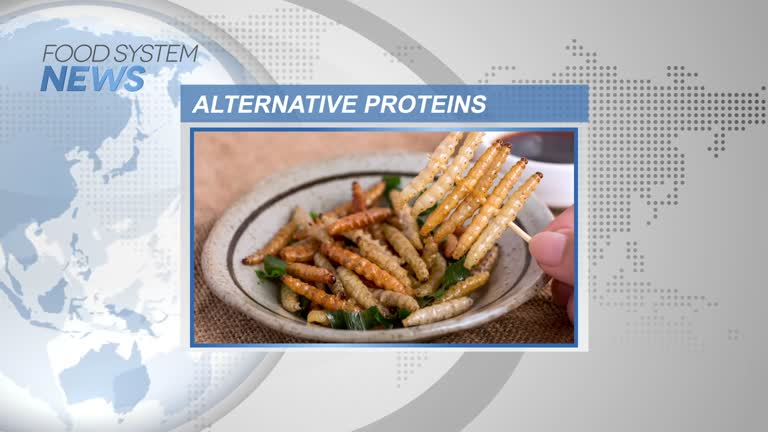 Newsreel: Alternative proteins