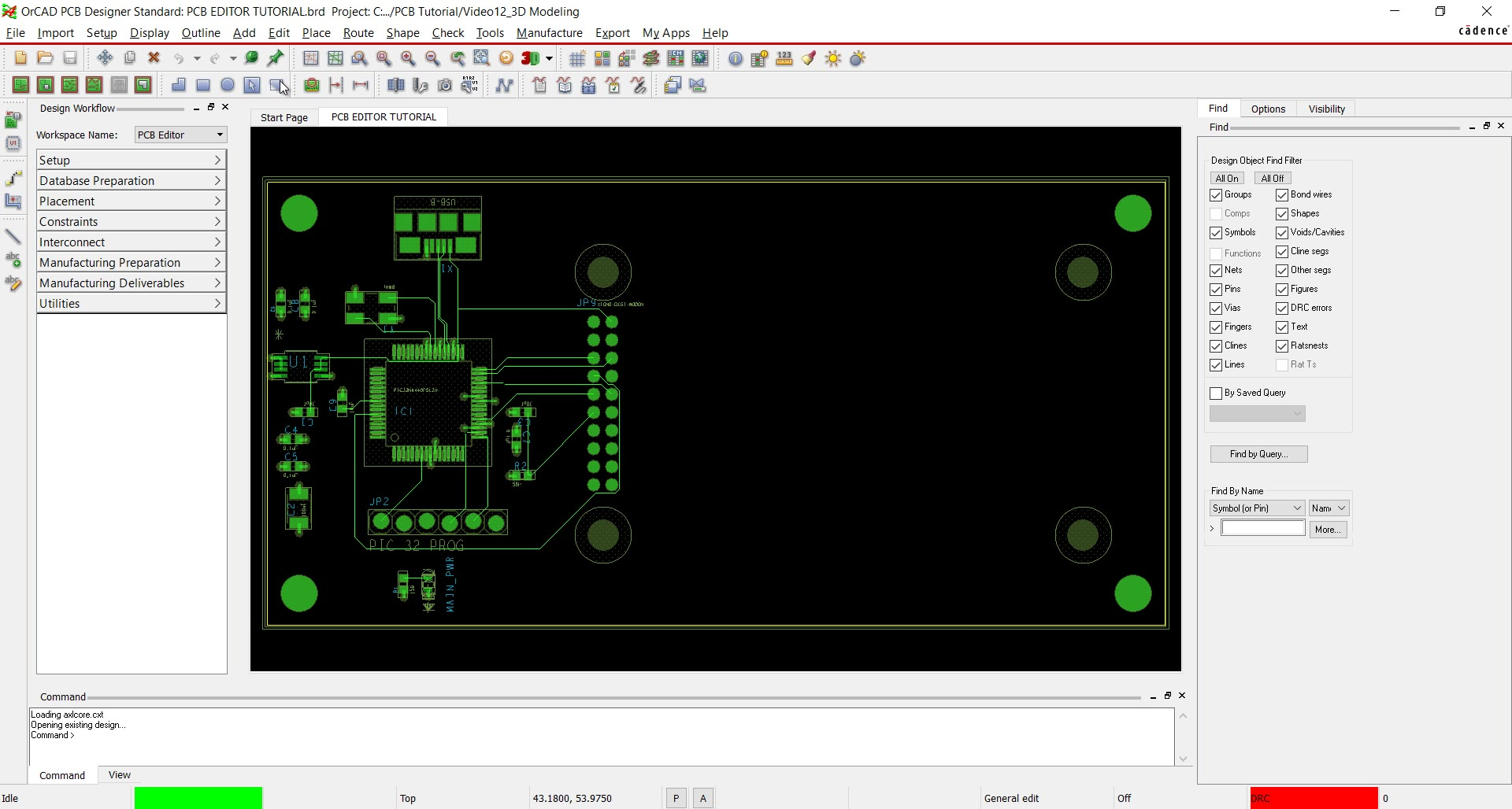 Schematic Editor For Drawing And Publishing Electronic Circuit