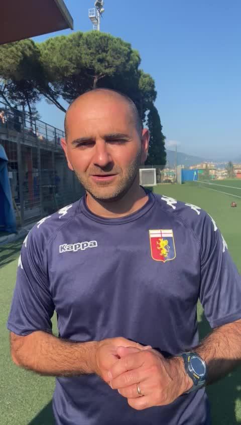 Coppa Primavera: il commento di Gabriele Gervasi, mister del Genoa