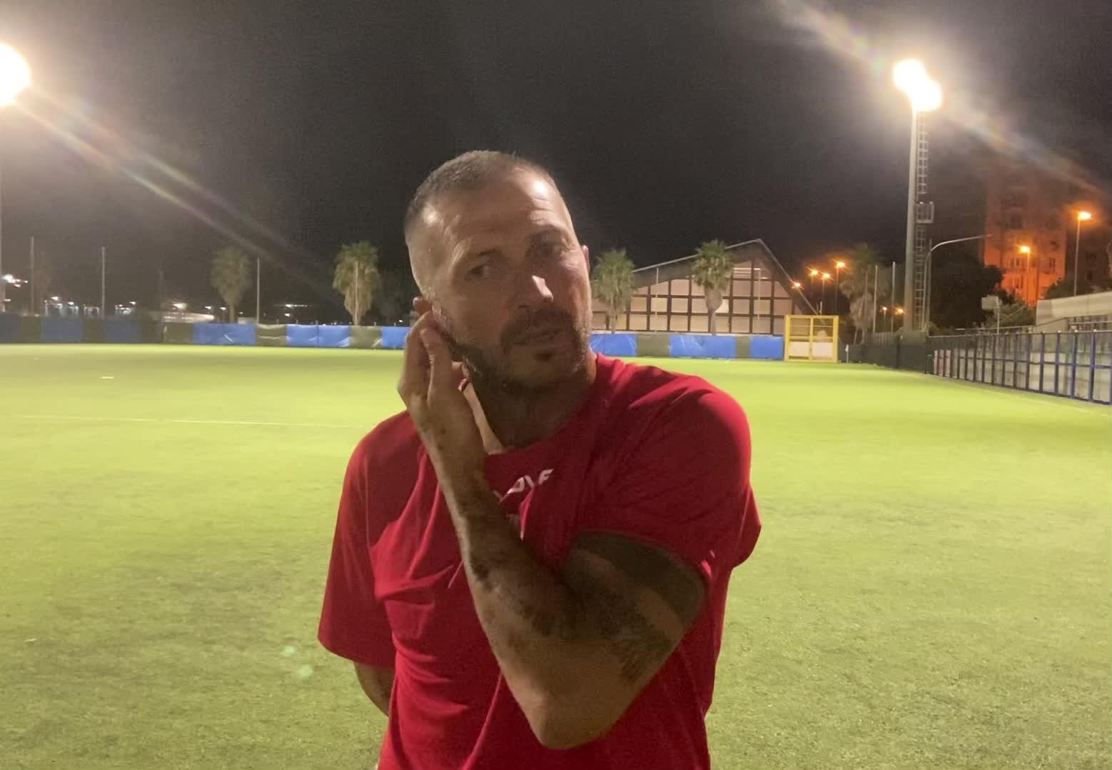 Soccer Borghetto, l'intervista post partita di Marco Carparelli