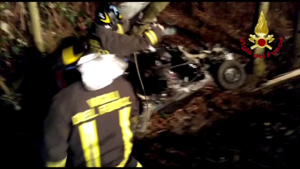 Video: Incidente a Montegrino Valtravaglia
