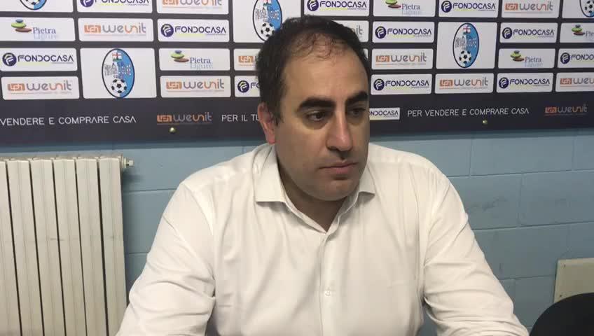 """Calcio, il Pietra perde ma con orgoglio. Mister Pisano sa ciò che manca: """"Serve essere più maliziosi"""""""