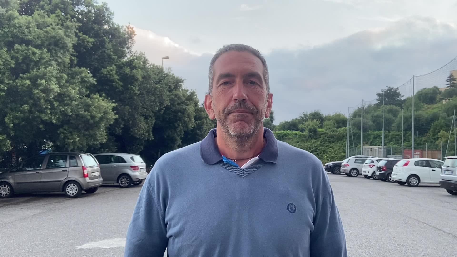 Roberto Arboscello punge la giunta Toti al termine dell'inaugurazione della Stephan El Shaarawy Academy