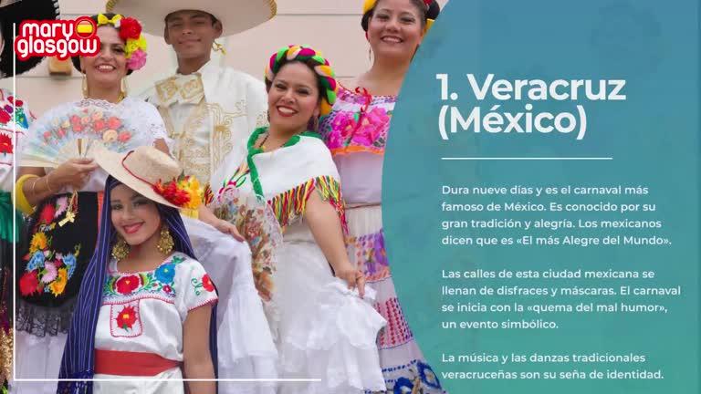 ¡Carnavales hispanos!
