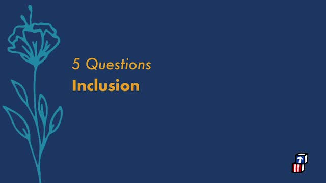 Five Questions with Dr. Gail Joseph - Inclusion