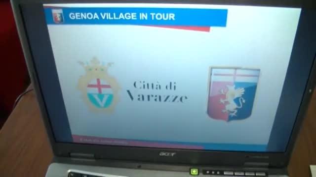 Parte da Varazze il Genoa Village in Tour