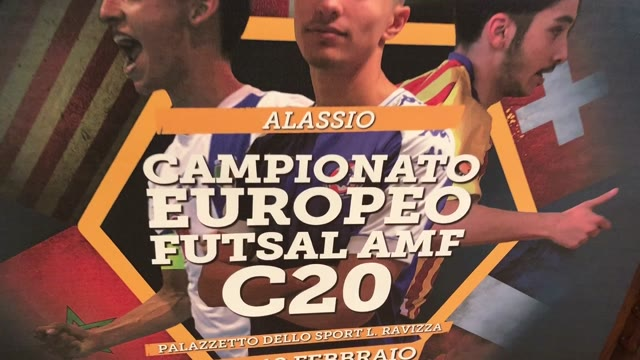 Football sala: cinque Nazionali ad Alassio per il campionato europeo under 20