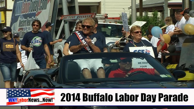 Western New York Labor News� NOW! - 2014 Buffalo Labor Day Parade