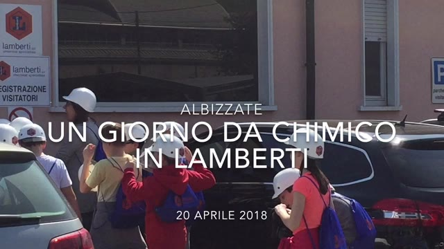 Video: Un giorno da chimico in Lamberti