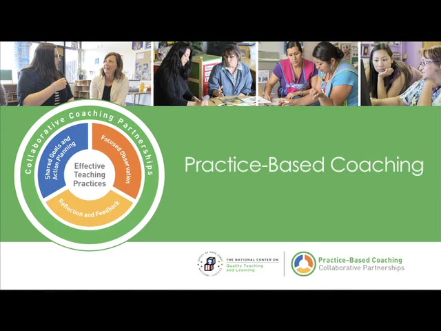 Practice-Based Coaching: Collaborative Partners