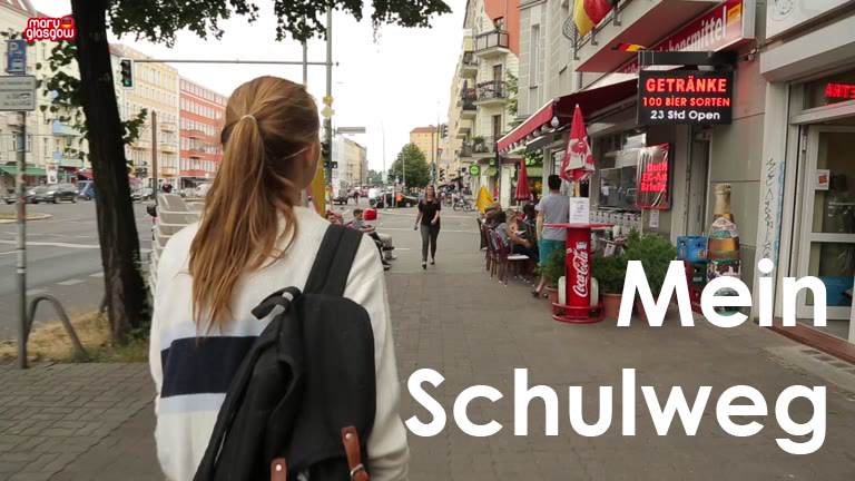 Mein Schulweg