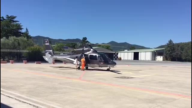 """""""Air Taxi"""" arriva a Villanova d'Albenga"""