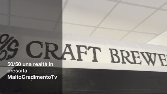 Video: 50/50, un birrificio in crescita
