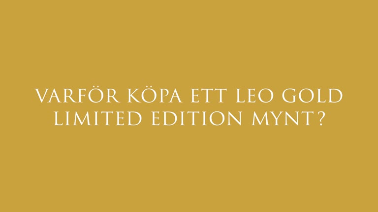 LEO Gold Limited Edition Collectors Coin
