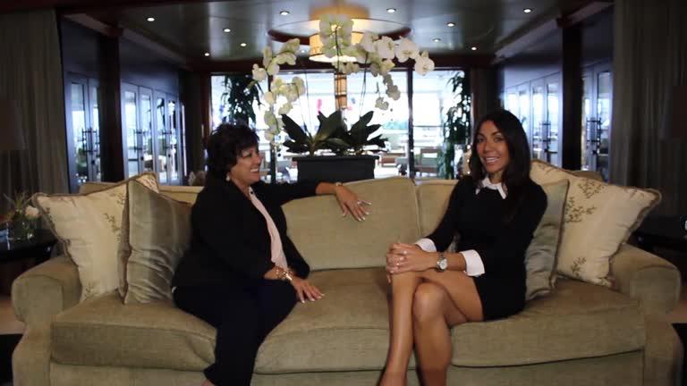 Claudette Bonville Talks Interior Yacht superyachtscom