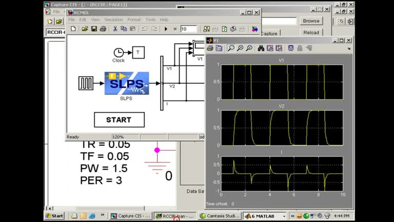 PSpice® Systems Option RC Circuit Application