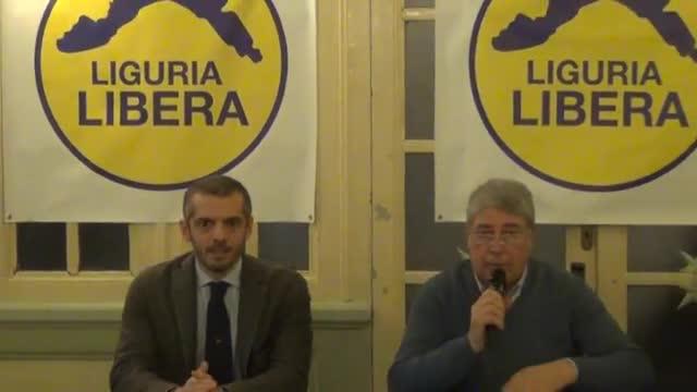 Regionali, nasce Liguria Libera: da Pellerano a Morgillo una lista civica per il centro destra