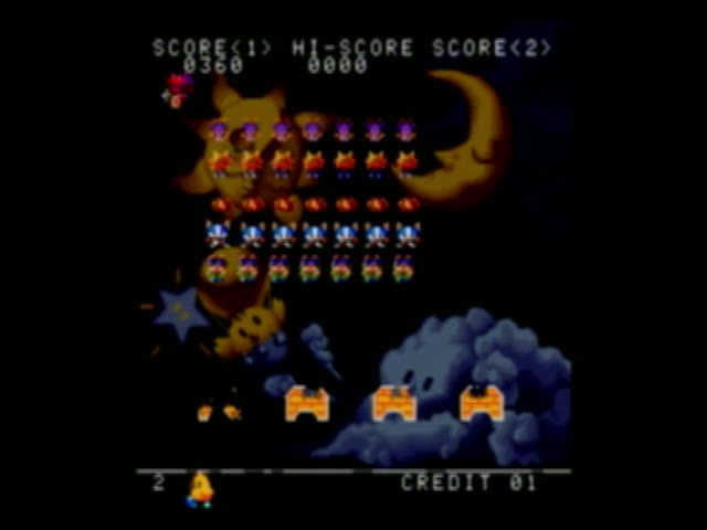PlayStation 2 - Taito Legends 2 - NTSC - Space Invaders DX - Parody Game Mode [Points] - 3,090 - Shaun Michaud