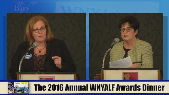 The 2016 Annual WNYALF Awards Dinner