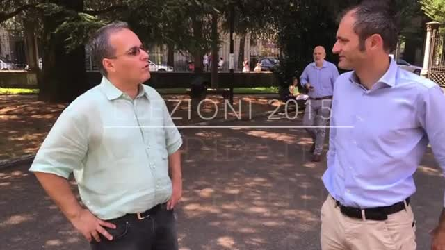 Video: Licata-Fagioli, e i loro supporter, a confronto