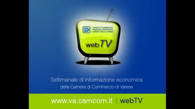 Video: Il Tgweb della Camera di Commercio di Varese