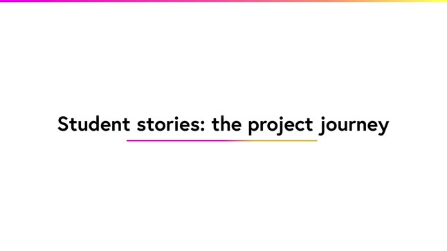 Student stories: the project journey