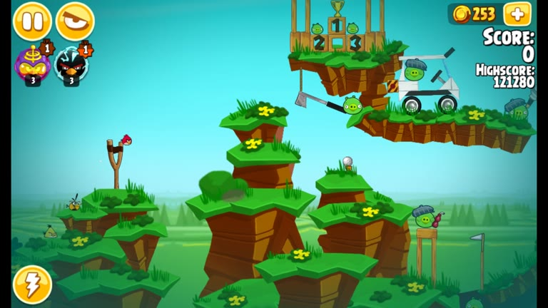 Android - Angry Birds Seasons - Pig Days - 6-8: Golfer Day - 137,260 - Rodrigo Lopes
