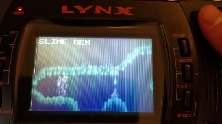 Atari Lynx - Todd's Adventure in Slime World - Factory Settings - 20,063,100 - Charles Adams