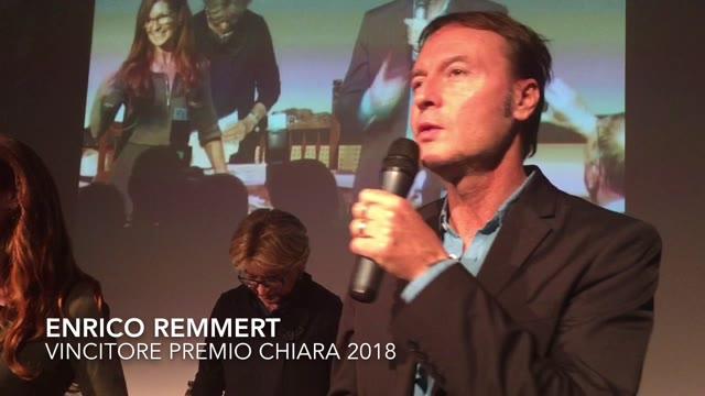 Video: Premio Chiara, vince Enrico Remmert