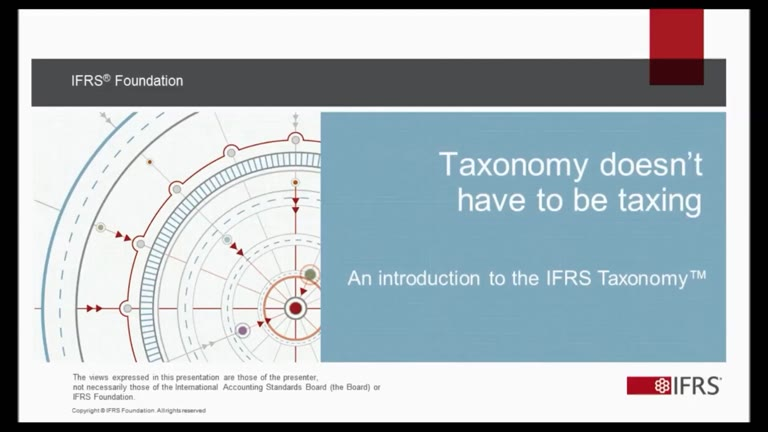 IFRS Taxonomy