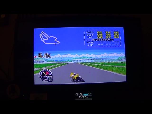 SNES / SFC - GP-1 Part II - NTSC - France [Fastest Race] - 03:32.1 - john brissie