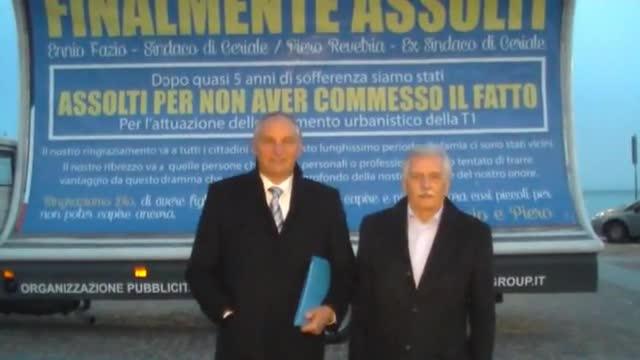 """Lottizzazione T1 a Ceriale, la festa di Fazio e Revetria: """"Finalmente assolti"""""""