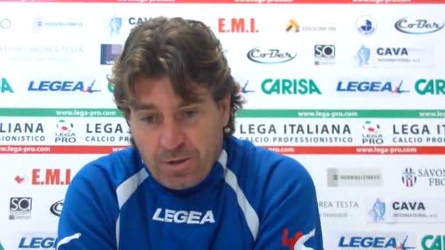 Video: Calcio, il Savona recupera con la Carrarese: le parole di Giancarlo Riolfo