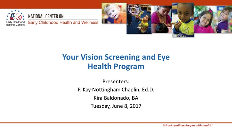 Your Vision Screening and Eye Health Program