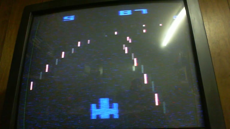 Atari 2600 / VCS - Night Driver - NTSC - Game 1, Difficulty A - 81 - glen sampson