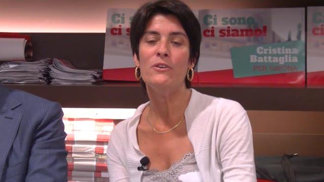 """Savona 2016, Battaglia attacca il centro-destra: """"Martino? Non ho ancora deciso"""""""
