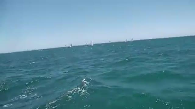 Laura Selvaggio e Camilla Fassio in gara nella ventosa Fremantle