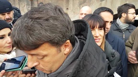 La giornata genovese di Matteo Renzi