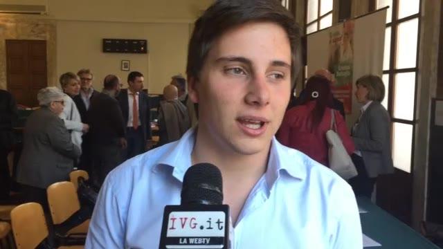 Video: Luca Burlando è il candidato più giovane del Pd di Savona