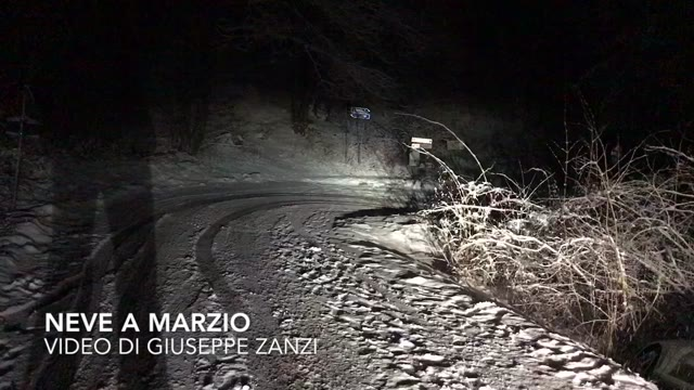 Video: Neve a Marzio