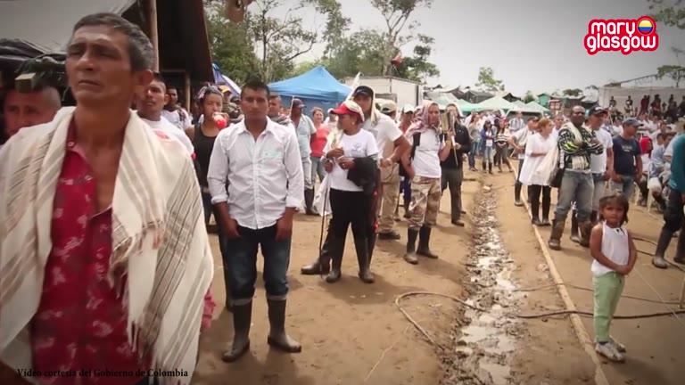 La paz llega a Colombia