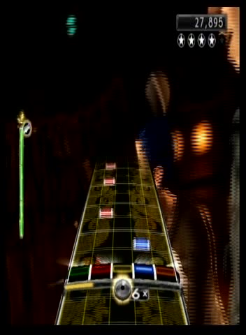 "Nintendo Wii - Green Day Rock Band - Single Player - ""Having a Blast"" - Guitar - 77,697 - Jared Oswald"