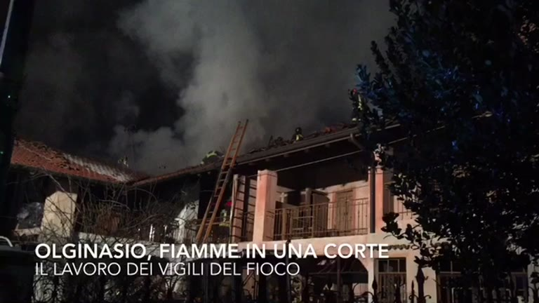 Video: L'incendio di Olginasio