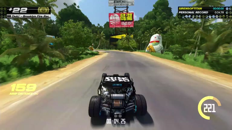 PlayStation 4 - Trackmania Turbo - White Series 22 - Fastest Time - 24.76 - Shaun Michaud