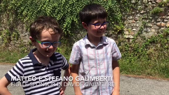 "Video: Matteo e Stefano Galimberti: ""Forza papà"""